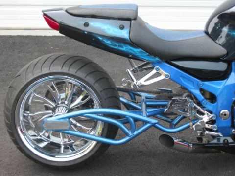 custom motorcycle, custom swingarm, zx12, zx10, hayabusa, 300 tire, 330 tire, stereo swingarm ...