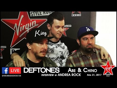 Deftones - Virgin Radio Italy Interview 2017 [HD]