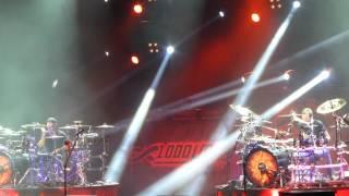 """""""Dual Drummers & Bastalla de Los Tambores"""" Godsmack@Santander Arena Reading, PA 5/2/15"""