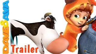 👨🌾 The Farmer in the Dell - Trailer | Nursery Rhymes and Baby Songs from Dave and Ava  👨🌾