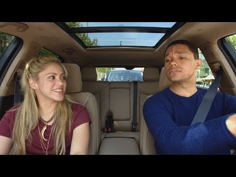 Apple Music — Carpool Karaoke — Shakira and Trevor Noah Preview