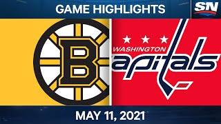 NHL Game Highlights | Bruins vs. Capitals - May 11, 2021