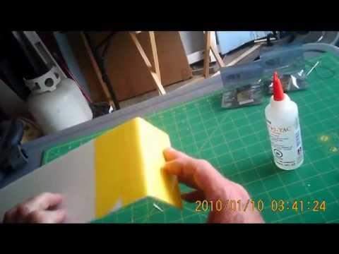 DollarTree Foam-Board: Joining Sheets
