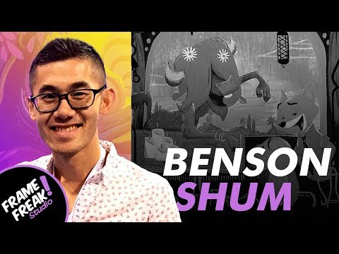 INTERVIEW W/ BENSON SHUM: Animation & Illustration - The Creative Hustlers Show #28