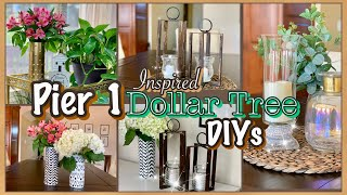 Pier 1 Inspired Dollar Tree DIY Room Decor