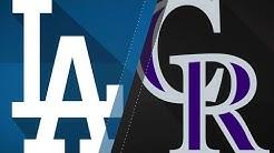Freeland, Blackmon power Rockies to 4-2 win: 9/8/18
