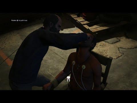 Grand Theft Auto V - Torture Scenes