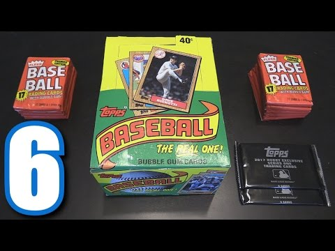 OLDEST PACKS I'VE EVER OPENED! | Opening Packs #6