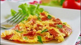 Обалденный Омлет в Мультиварке Рецепт Вкусного Омлета