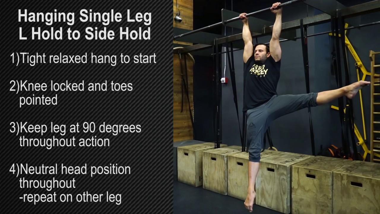 Hanging Single Leg L Hold To Side