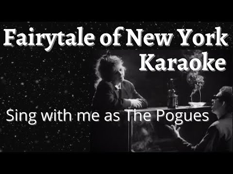 Fairytale of New York Karaoke (Female part only)