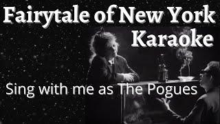 Fairytale of New York Karaoke (Female part only)