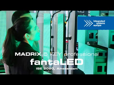 MADRIX @ fantaLED at ISE 2020 in Amsterdam