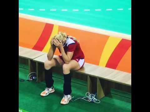Эмоции российских гандболисток после победы над сборной Норвегии