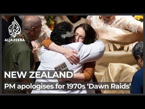 New Zealand apologises