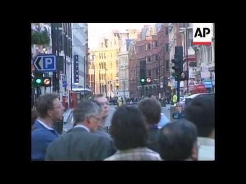 UK: LONDON: BOMB EXPLOSION IN SOHO DISTRICT LATEST (2)