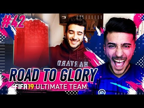 FIFA 19 ROAD TO GLORY #42 - OUR FIRST FUTMAS SBC?! WHAT A BEAST!