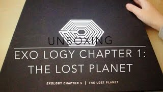[UNBOXING]EXO LOGY CHAPTER 1:THE LOST PLANET(special edition)