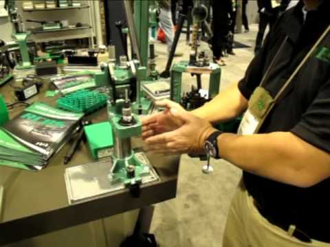 NEW RCBS Summit Reloading Press -- SHOT Show 2013 | How To Save Money ...