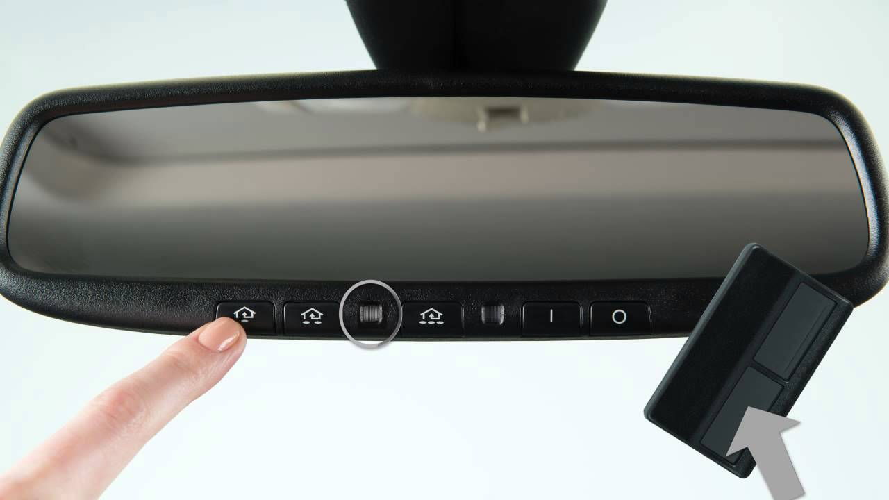 Hyundai Elantra: Erasing programmed HomeLink buttons