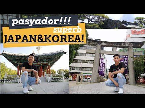JAPAN vs KOREA 4K TOUR : BEST ASIAN PORTS / PASYADOR