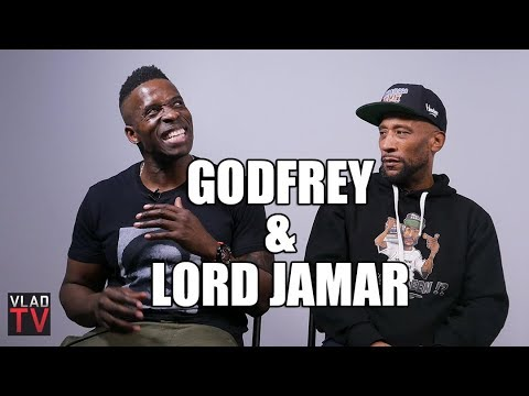 """Lord Jamar on """"Figuring Out He's Black"""", Godfrey's Hard Time from Black Girls (Part 4)"""