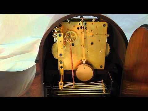 Seth Thomas Antique Mantel Clock # 113 Movement - Westminster Chimes, Striking 11 O