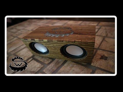 Mini Lautsprecher selber bauen - Mini Speaker DIY