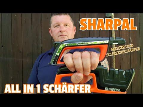 ✔ SHARPAL ALL In 1 Schärfer + Scheren- U. Messerschärfer ☆ Combi Video