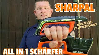✔ SHARPAL ALL in 1 Schärfer + Scheren- u. Messerschärfer ☆ Combi Video