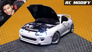 RC Modify 28 | White Toyota Supra MK4