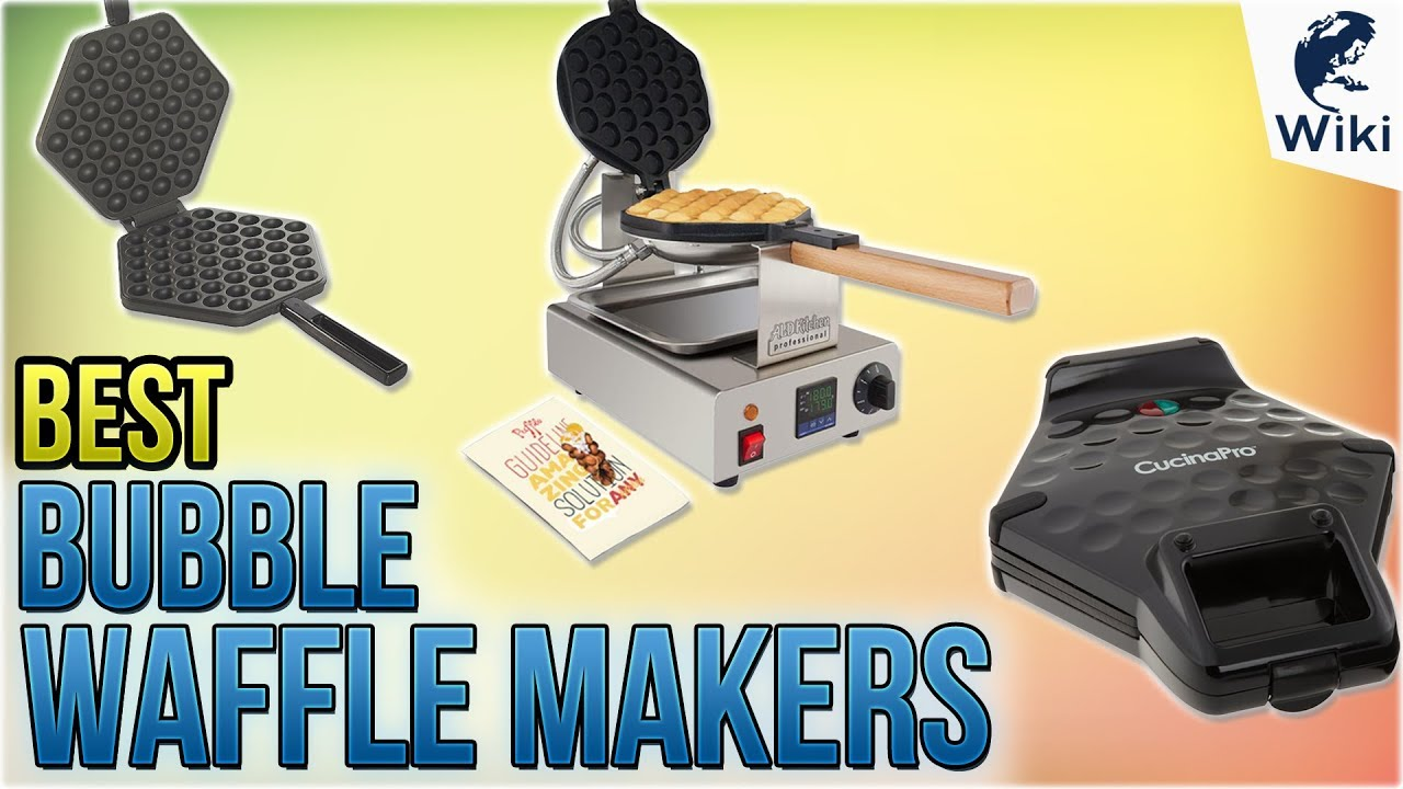 Cucinapro Waffle Top 5 Bubble Waffle Makers Of 2019 Video Review