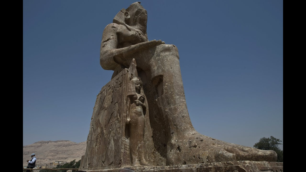 Megalithic Statues In Egypt Eden