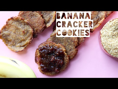 Healthy Peanut Butter Cookie Crackers Recipe   How To Make Low Calorie Peanut Butter Cookie Crackers