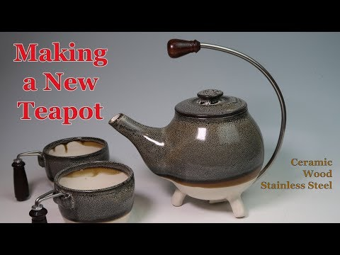Making A New Ceramic Teapot