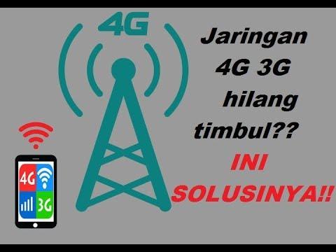 Cara memantapkan sinyal 4G dan 3G yang hilang timbul