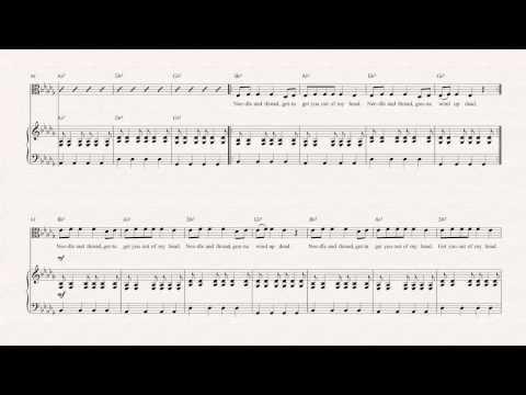 Viola  - Stitches - Shawn Mendes - Sheet Music, Chords, & Vocals