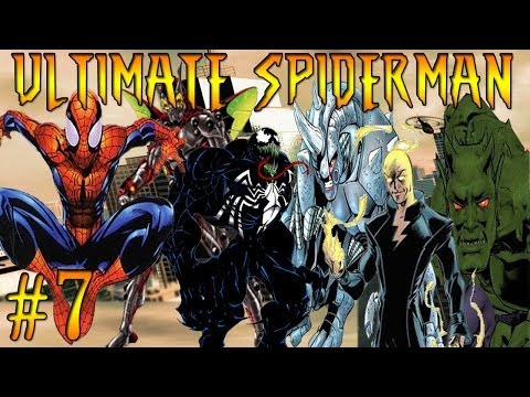 Let's Play Ultimate Spiderman Part 7 Venom Vs Silver Sable !
