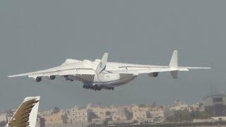 Antonov AN-225 Mriya Take-off from Bahrain