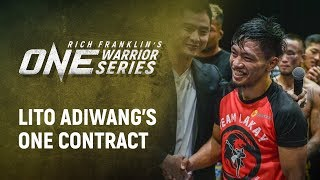 Rich Franklins ONE Warrior Series  Best Moments Lito Adiwangs ONE Contract