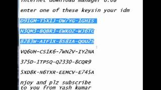 Idm 6. 07 serial number key free download alive-instruction70's diary.