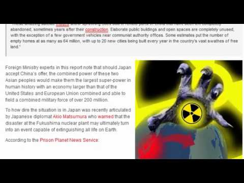 Japan GLOBAL Catastrophe / Plans Fukushima #4 Spent Fuel Pool Collapse:  4/15/12