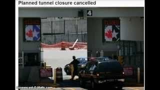 Planned drill closing Detroit Windsor tunnel training exercise for emergency officials cancelled