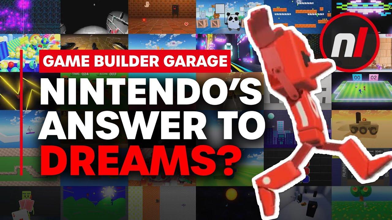 Game Builder Garage Looks Incredible But Is It Nintendo's 'Dreams'?