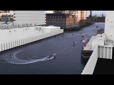 """København 2095 - VFX i """"QEDA"""""""