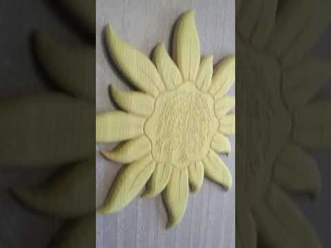 "Солнышко,""Символ, материал ясень."