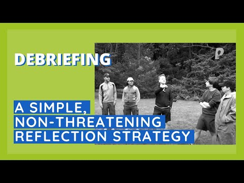 Simple, Non-Threatening Reflection Strategy - Paired Share Debrief