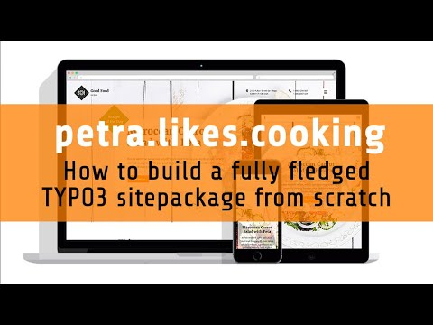 petra.likes.cooking 1.4 - sections and partials
