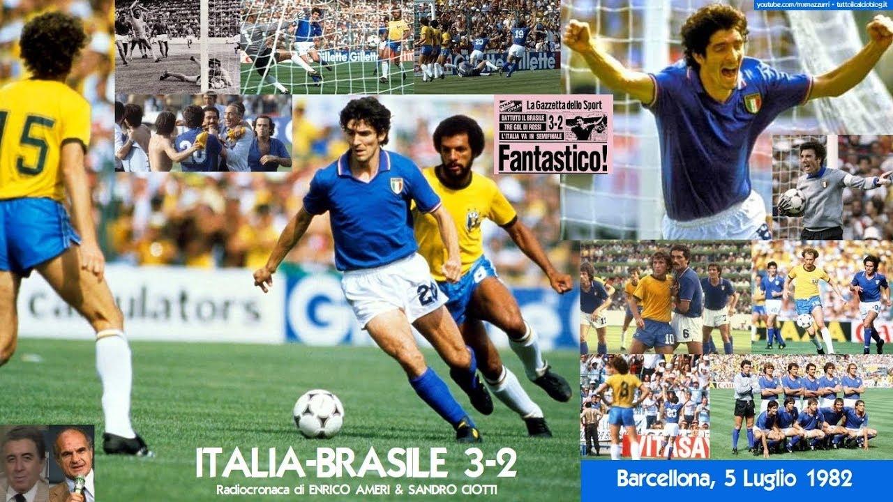 Italia Brasile 3 2 Radiocronaca Di Enrico Ameri Sandro