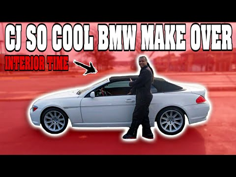 DROPPING OFF CJ SO COOL BMW FOR INTERIOR HELP US OUT